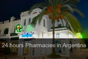 24 hours Pharmacies in Argentina