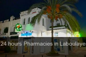 24 hours Pharmacies in Laboulaye