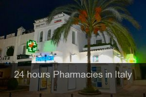 24 hours Pharmacies in Italy