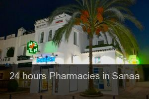 24 hours Pharmacies in Sanaa