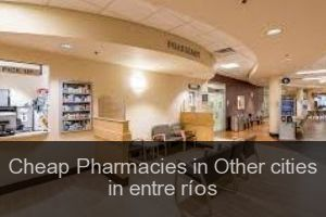 Cheap Pharmacies in Other cities in entre ríos