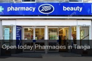 Open today Pharmacies in Tanga (City)