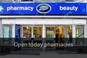 Open today pharmacies