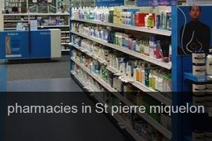 Pharmacies in St pierre miquelon