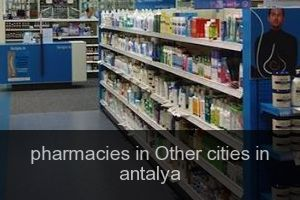 Pharmacies in Other cities in antalya