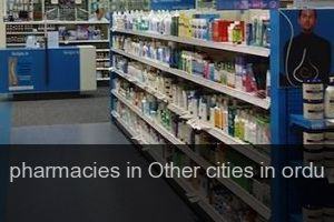 Pharmacies in Other cities in ordu